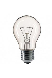 Лампочка накаливания Pila Stan 40W E27 230V A55 CL 1CT/12X10