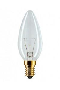 Лампочка накаливания Philips Stan 40W E14 230V B35 CL 1CT/10X10