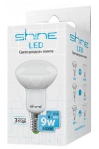 Лампочка светодиодная  Shine R50 9W E14 4000K 221243