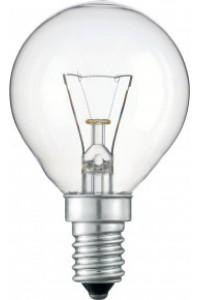 Лампочка накаливания Pila P45 60W 230V E14 CL.1CT/10X10F