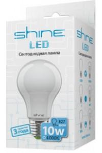 Лампочка светодиодная  Shine A60 10W E27 4000K 220191