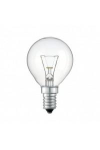 Лампочка накаливания Philips Stan 25W E14 230V P45 CL 1CT/10X10