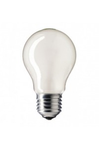 Лампочка накаливания Pila A55 40W 230V E27 FR.1CT/12X10F