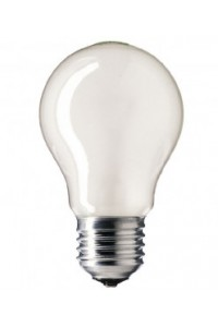 Лампочка накаливания Pila STANDARD 100W E27 230V A55 FR