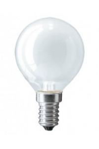 Лампочка накаливания Pila P45 60W 230V E14 FR.1CT/10X10F