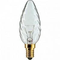 Лампочка накаливания Philips Deco 60W E14 230V BW35 CL 1CT/4X5F