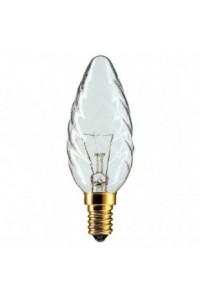 Лампочка накаливания Philips Deco 40W E14 230V BW35 CL 1CT/4X5F