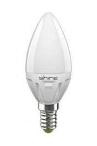 Лампочка светодиодная  Shine C37 6,5W E14 3000K 226235