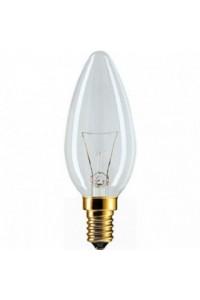 Лампочка накаливания Philips Stan 60W E14 230V B35 CL 1CT/10X10