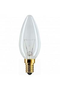 Лампочка накаливания Pila B35 40W 230V E14 CL.1CT/10X10F
