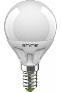 Лампочка светодиодная  Shine G45 6,5W E14 3000K 227235