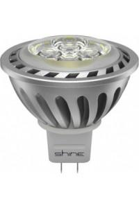 Лампочка светодиодная  Shine MR16 220V 5W 35° GU5,3 3000K
