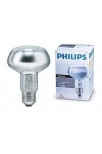 Лампочка накаливания Philips Refl 60W E27 230V NR80 25D 1CT/30 PH