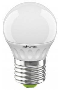 Лампочка светодиодная  Shine G45 3W E27 4000K 227183