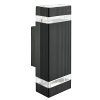 Фасадный светильник Searchlight LED Outdoor 1002-2BK-LED