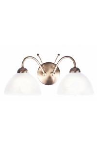 Настенный светильник Searchlight Milanese 1132-2AB