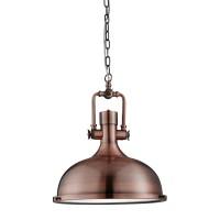 Подвесной светильник Searchlight Industrial Pendants 1322CU