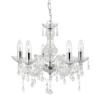 Люстра Searchlight Marie Therese 1455-5CL