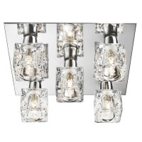 Потолочный светильник Searchlight Ice Cube 2275-5-LED