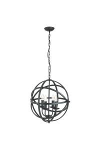 Подвесной светильник Searchlight Orbit 2474-4BK