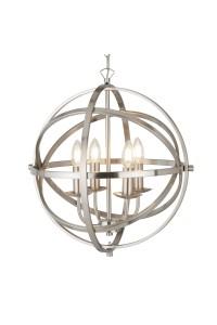 Подвесной светильник Searchlight Orbit 2474-4SS