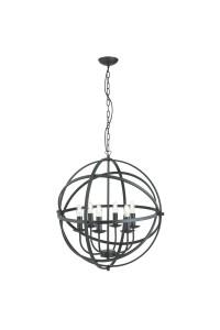 Подвесной светильник Searchlight Orbit 2476-6BK