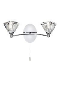 Настенный светильник Searchlight Sierra 2632-2CC