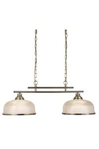 Подвесной светильник Searchlight Bistro II 3592-2AB