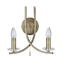 Настенный светильник Searchlight Ascona 4162-2AB