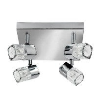 Потолочный светильник Searchlight Blocs 7884CC-LED