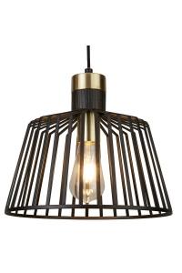 Подвесной светильник Searchlight Bird Cage 9411BK