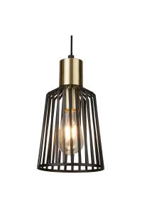 Подвесной светильник Searchlight Bird Cage 9412BK