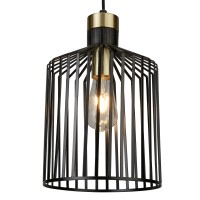 Подвесной светильник Searchlight Bird Cage 9413BK