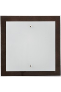 Настенно-Потолочный светильник Nowodvorski OSAKA SQUARE WENGE S 2902