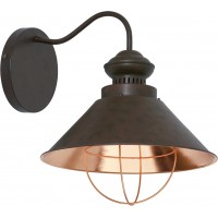 Настенный светильник Nowodvorski LOFT chocolate I kinkiet 5058