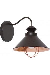 Настенный светильник Nowodvorski LOFT chocolate I kinkiet mały 5664
