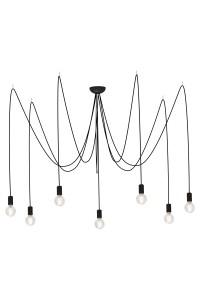 Подвесной светильник Nowodvorski SPIDER BLACK VII 6785
