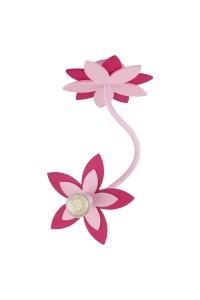 Настенно-Потолочный светильник Nowodvorski FLOWERS PINK I kinkiet 6893