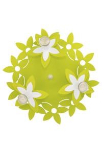 Потолочный светильник Nowodvorski  FLOWERS  GREEN III plafon okrągły 6900