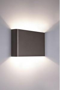 Настенный светильник Nowodvorski HAGA GRAPHITE 9710