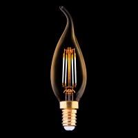 Лампа светодиодная E14 4W 2200K прозрачная 9793