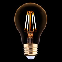 Лампа светодиодная E27 4W 2200K прозрачная 9794