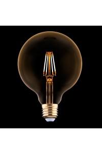Лампа светодиодная E27 4W 2200K прозрачная 9797