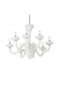 Люстра Ideallux WHITE LADY SP8 BIANCO 019390