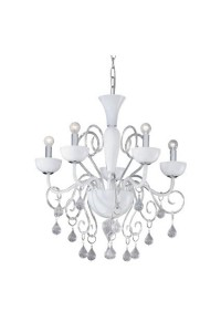 Люстра Ideallux LILLY SP5 BIANCO 022789