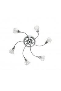 Потолочный светильник Ideallux TENDER PL6 TRASPARENTE 028699