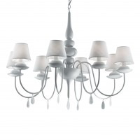 Люстра Ideallux BLANCHE SP8 BIANCO 035574