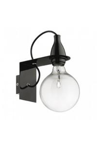 Настенный светильник Ideallux MINIMAL AP1 NERO 045214