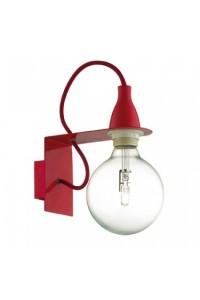 Настенный светильник Ideallux MINIMAL AP1 ROSSO 045221
