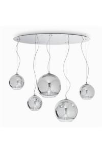 Подвесной светильник Ideallux DISCOVERY CROMO SP5 059655